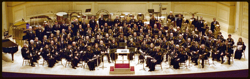 "The American Legion ""Band of the Tonawandas"" at Carnegie Hall, NYC"